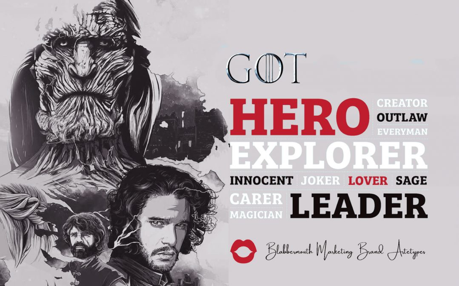 Game of Thrones Brand Archetypes