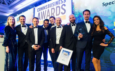 A great night was had by all at the 2019 Comms Business Awards