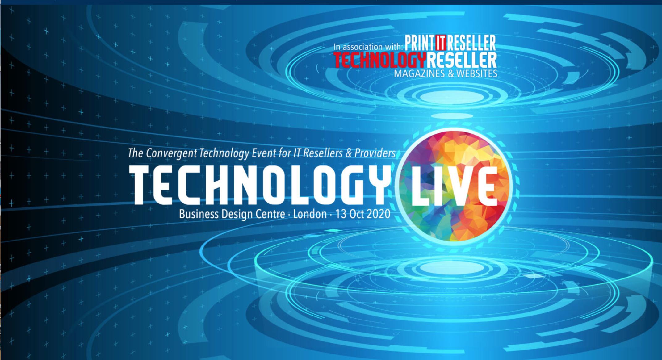 technology live logo